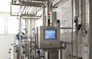 Milk production plant